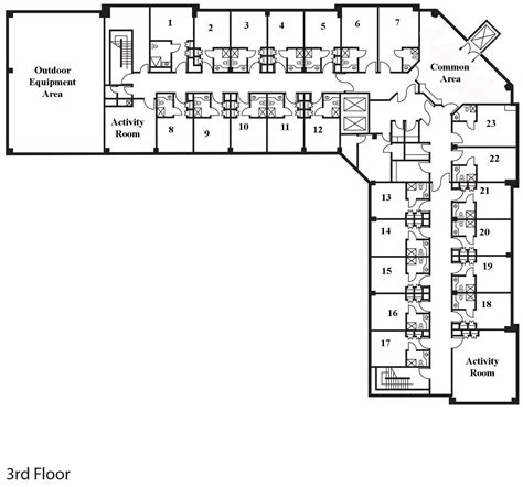 L Shaped Living Room Floor Plans by Assisted Living Floor Plans Search Floor Plan