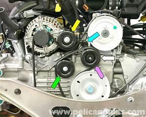 Porsche 911 Carrera Belt Tensioner Replacement