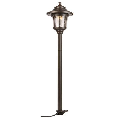 Home Depot Landscape Lighting by Hton Bay Low Voltage 10 Watt Equivalent Rubbed