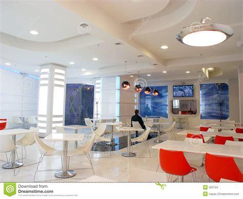 White Cafe Stock Images   Image: 323724