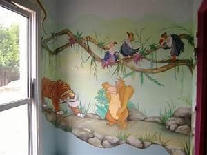 decoration chambre bebe walt disney With couleur mur bureau maison 14 deco chambre roi lion