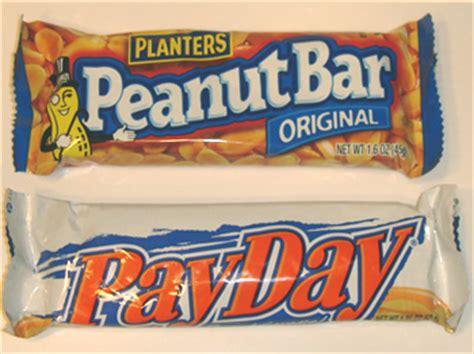 planters peanut bar planters peanut bar vs pay day