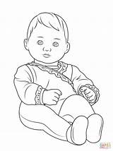 Coloring Pages Newborn Disney Popular sketch template