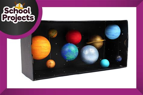 How to Make a Model Solar System   Solar system, Solar and