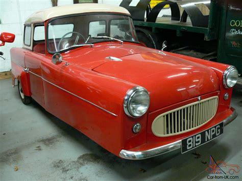 1960 Bond Car 3 Wheeler
