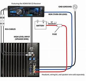 Wiring Diagram Car Amplifier  With Images