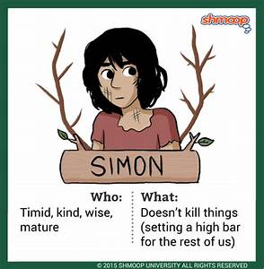 Simon in Lord of the Flies
