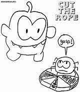 Coloring Cut Rope sketch template
