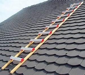 Echelle De Toit : echelle plate pour toiture bois 4m ~ Melissatoandfro.com Idées de Décoration