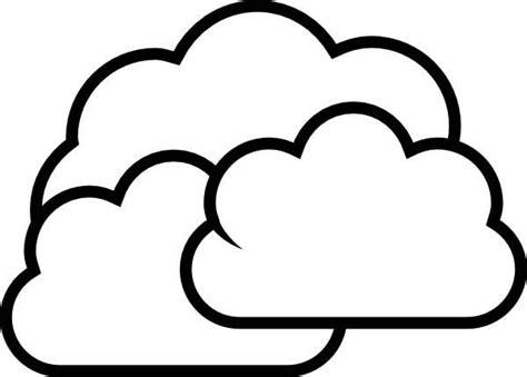 Cloud Coloring Pages - Eskayalitim