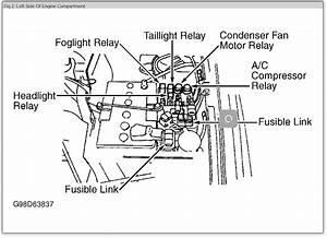 2000 Mitsubishi Fuse Box Diagram
