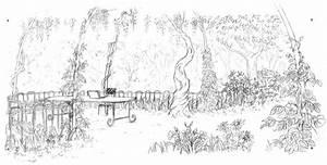 Jardin Dessin Couleur : coloriage adulte jardin magnifique dessin gratuit imprimer ~ Melissatoandfro.com Idées de Décoration