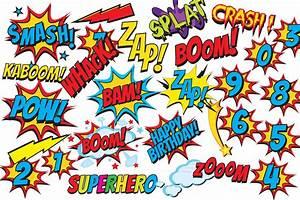 Superhero, Clip, Art, Comic, Book