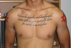 Tattoo Quotes f... Chest Tattoo Love Quotes