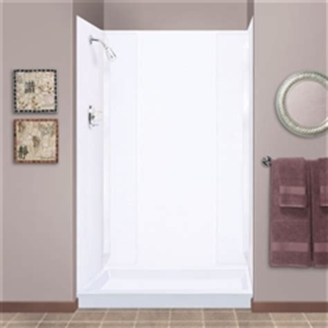 mustee wht durawall shower wall white fits
