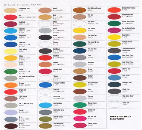 touch up paint color chart cyclofiend rbw color touch up paint