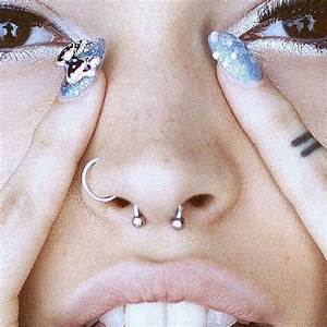 Best 25 Double Nose Piercing Ideas On Pinterest Nose