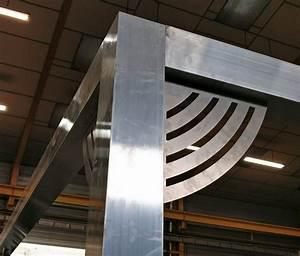 Découpe Laser En Ligne : d tail angle pergola tube aluminium d coupe laser test montage avant peinture r alisations ~ Melissatoandfro.com Idées de Décoration