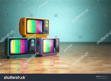 Tvs Classic Backgrounds by Vintage Television Concept Stack Retro Tv Stock