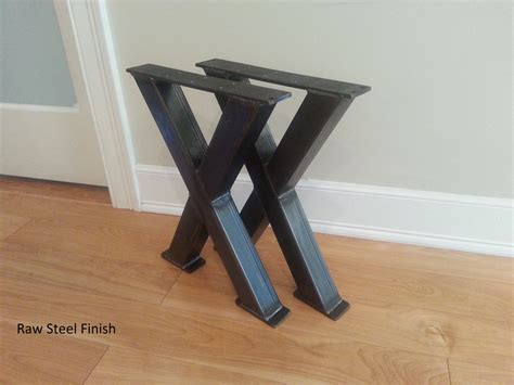X Bench Metal Legs  Steel Bench Legs