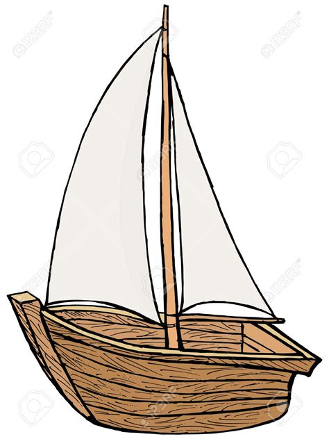 Sailing Boat Cartoon Pictures by Drawn Yacht Cartoon Pencil And In Color Drawn Yacht Cartoon