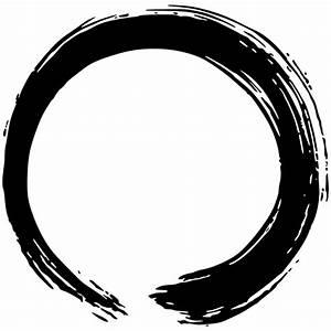 Zen Wall Sticker Enso  Circle