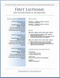 Resume Templates Free Download Word Gfyork