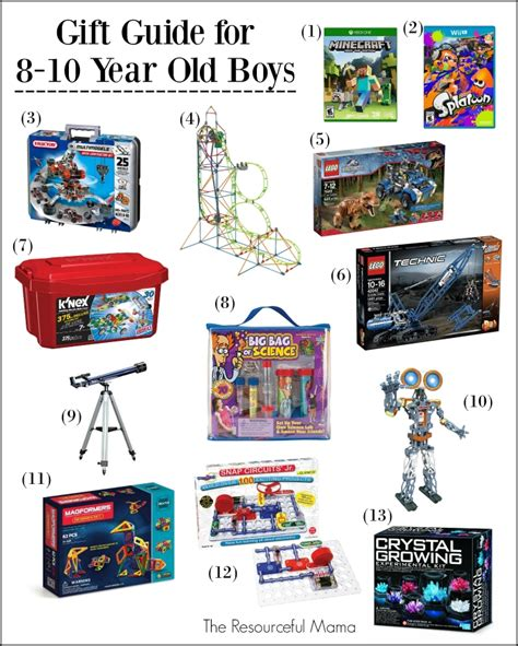christmas gifts for 10 year old boy 2017 best template idea