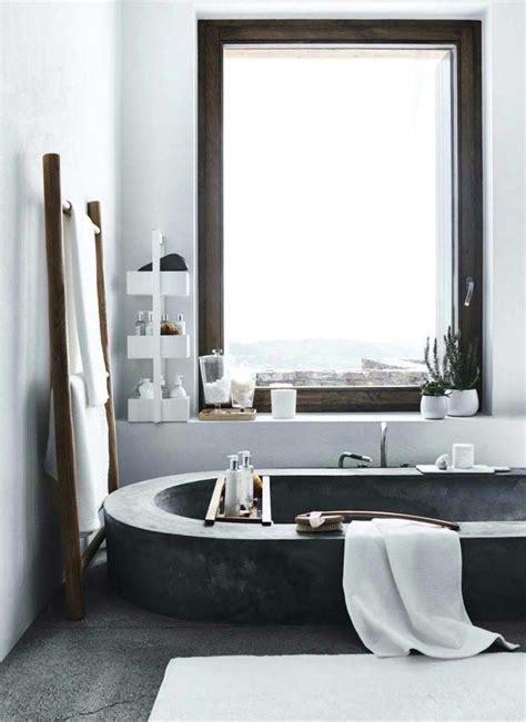 morning bathroom interior morning