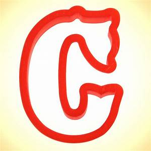 curly letter c cookie cutter cookie cutter experts since With letter c cookie cutter