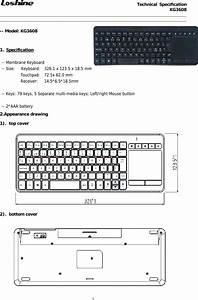 Loyal Electronics Kg3608 2 4g Wireless Keyboard User Manual