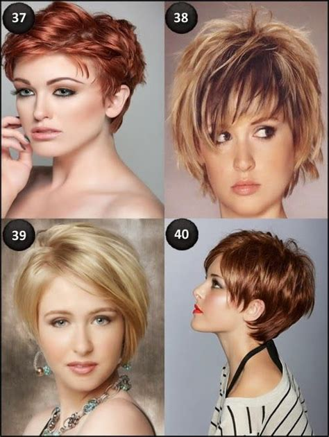 short hairstyles  oval faces cute hairstyles