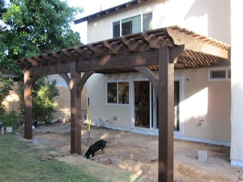 Patio Deck Kit With Pergola