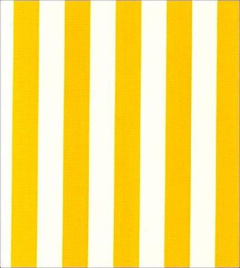 Yellow And White Stripe Oilcloth Fabric  Oilcloth Alley
