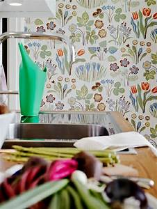 Tapeten Für Bad Und Küche : ideen f r tolle tapeten muster in der k che k che pinterest tapeten muster und besteck ~ Markanthonyermac.com Haus und Dekorationen