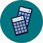 Accounting Icon Ecommerce Commerce Icons Calculation Calculator