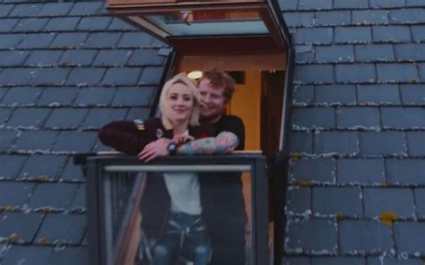 """Ed Sheeran Releases """"galway Girl"""" Video Featuring Saoirse"""