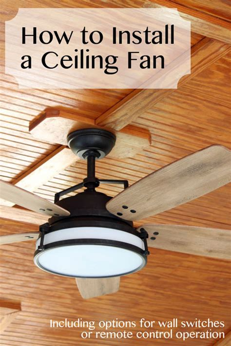 how to fix my ceiling fan how to install a ceiling fan pretty handy