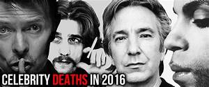 Recent Actor Deaths 2016 Pictures to Pin on Pinterest ...