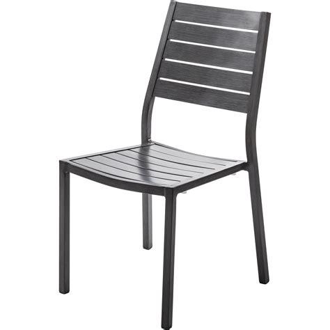 table et chaises de jardin leroy merlin chaise de jardin en aluminium antibes argent leroy