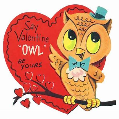 Valentine Owl Clip Card Yours Printable Happy
