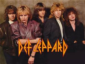 Def Leppard's original band name was Deaf Leopard. Who ...