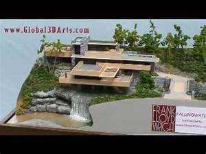 3D Architectural Animation- Frank Lloyd Wright Falling