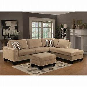 Yosemite sectional sofa with ottoman right facing sam39s for Yosemite sectional sofa with ottoman right facing
