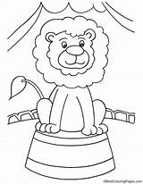 Coloring Pages Lion Unicycle Drawing Phonics Template Printable Colouring Ganesha sketch template