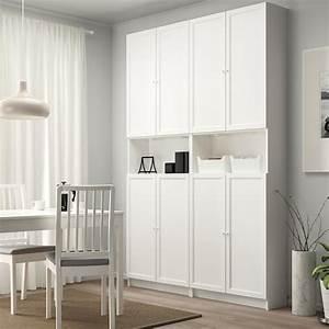 Ikea Metallbett Weiß : billy oxberg b cherregal mit aufsatz t ren wei ikea ~ A.2002-acura-tl-radio.info Haus und Dekorationen