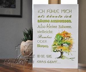 Ich Fühle Mich Als Könnte Ich Bäume Ausreißen : lustige holzschilder unikat14 ~ Markanthonyermac.com Haus und Dekorationen
