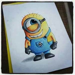 Minions! A cute minion drawing! | Minions! | Pinterest ...