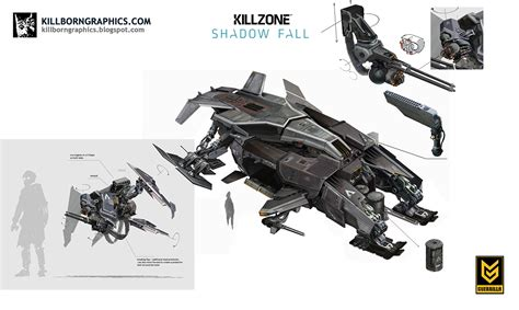 Concept Art Killzone Shadow Fall Art Of The Game