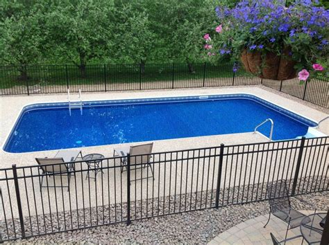 25+ Best Ideas About Rectangle Above Ground Pool On